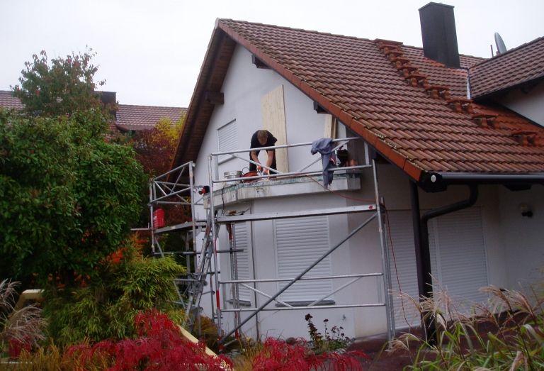 Zimmerei-Mohr-Carport-Vordächer-vorher