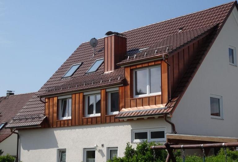 Zimmerei-Mohr-Dachsanierung mit Gauben
